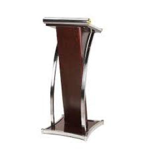 mimbar podium stainless