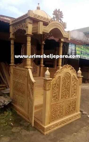 jual mimbar masjid 2020