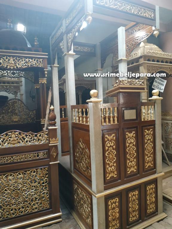 mimbar masjid asli jepara