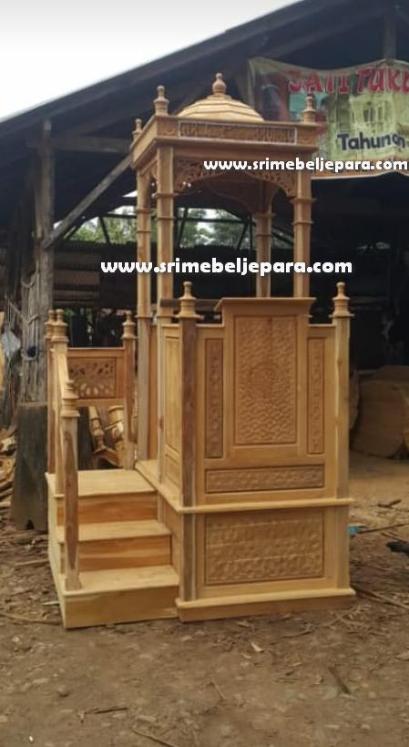 jual mimbar masjid terbaru