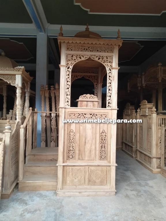 mimbar masjid nabawi asli jepara