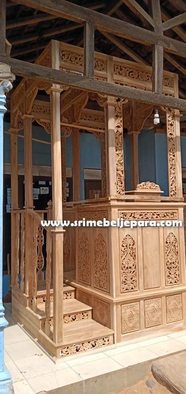 mimbar jual masjid nabawi asli jepara