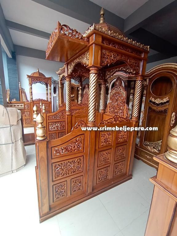 mimbar masjid jati jepara