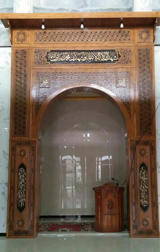 mihrab masjid ukiran jati jepara
