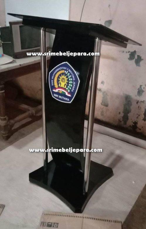 podium minimalis stainless