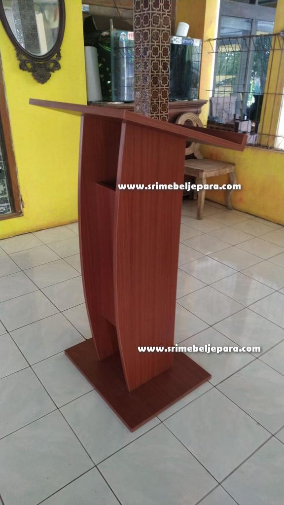 mimbar masjid minimalis HPL